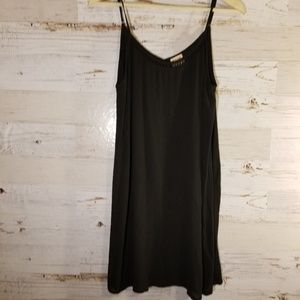Mossimo Supply Co black flowy dress